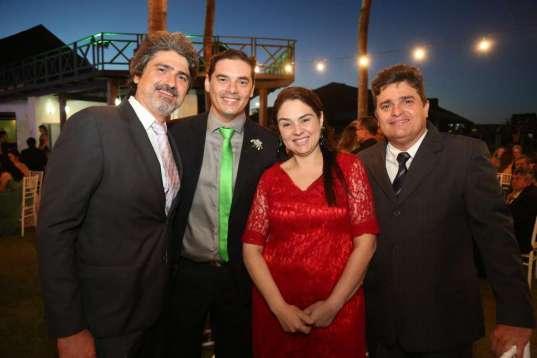 Henrique Hisssa, Daniel E Carol Rodrigues e Edilsen Junior