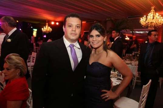 Igor Fontenle e Mariana Lima