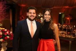 Rodrigo Thomas e Fernanda Fernandes