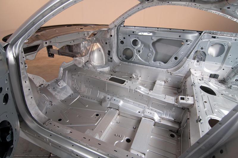 Carrocería de aluminio