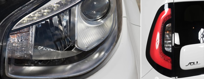 Luces LED delanteras y traseras