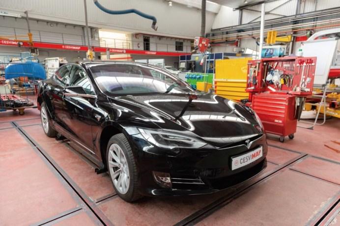 CESVIMAP ha adquirido para investigación el Tesla Model S