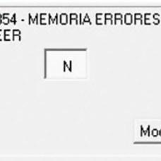 Posición de memoria de errores en la zona de posiciones no estándar en Audatex