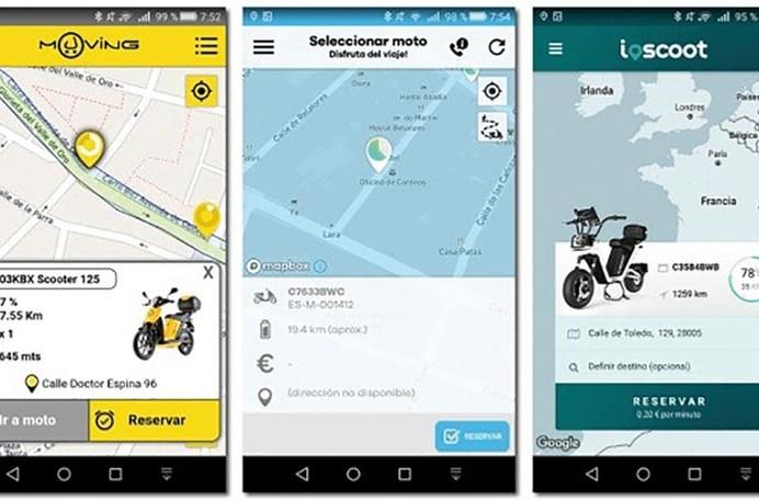 Apps de moto sharing