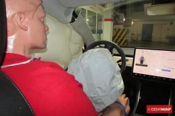 Airbag del conductor.