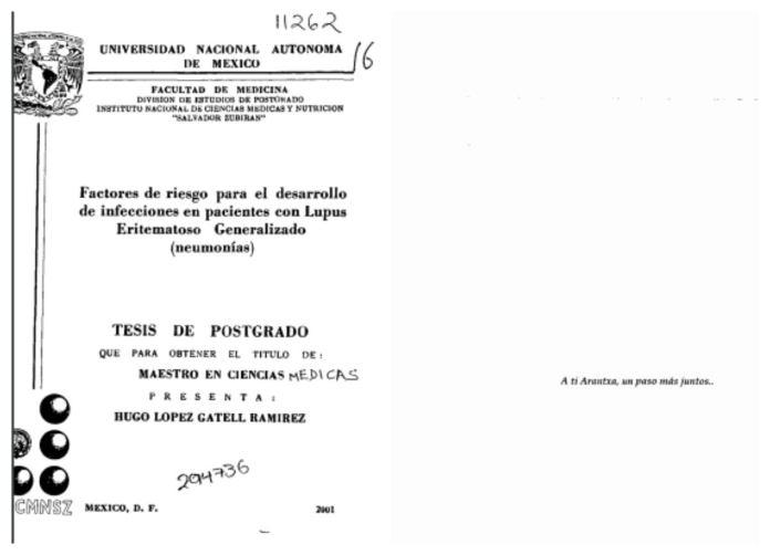 hugo lopez gatell thesis arantxa colchero