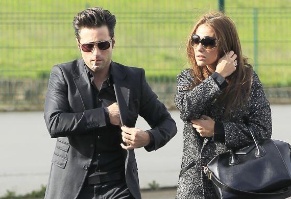 paula echevarria Paula Echevarría, muy triste en el funeral de su abuela Olivia