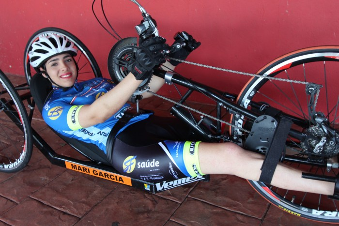 Paraciclista Mariana Garcia