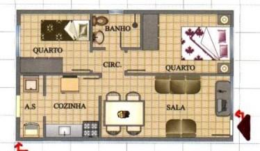 planta de casa pequena 5