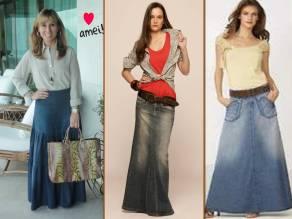 saia jeans longa 2