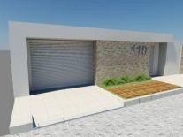 fachada de muro moderno 4
