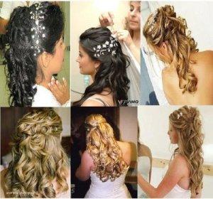 penteados para cabelos compridos 1