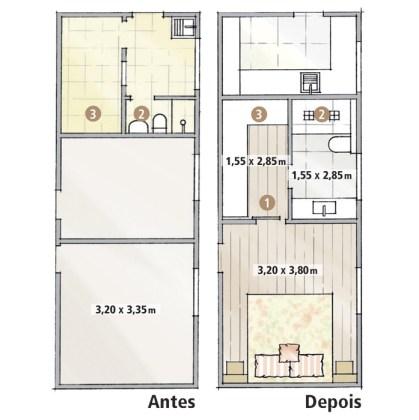 suite com closet 6