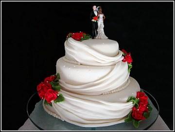 bolo de casamento decorado 5