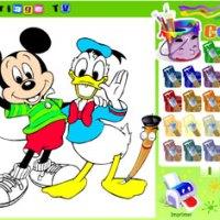 Desenhos para colorir online - opção para bordar