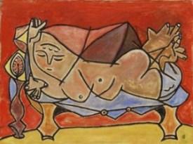 oscar-dominguez-mujer-acostada