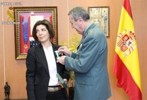 guardia civil, Isabel Moyano