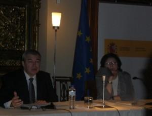 jose-jimenez-director-de-bellas-artes-rubi-sanz-directora-museo-arqueologico-nacional
