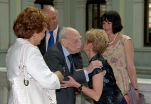 F. Ayala en reunión del Patronato de la BNE. 2 de junio de 2009