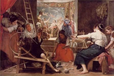 Las hilanderas de Velázquez, Museo del Prado
