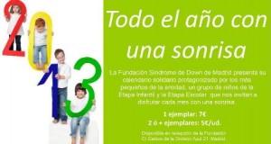 FundaciónSindromedeDownMadrid-Calendario