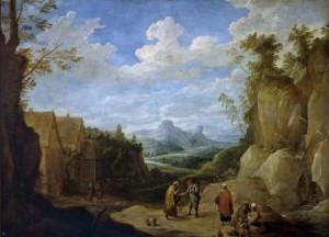 6. Paisaje con gitanos, Teniers