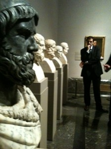 Colección Azara de retratos de personajes griegos.