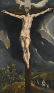 El Greco Cristo en la Cruz, vendido por 2.662.567 euros, Sothebys julio 2013