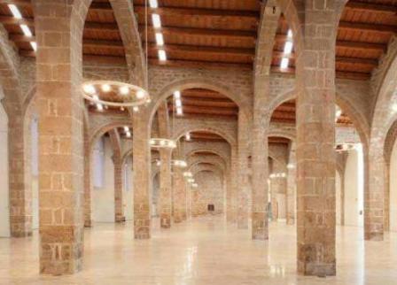 Las Atarazanas Reales de Barcelona, edificio en el cual se ubica el Museu Marítim de Barcelona