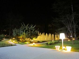 Museo del Traje - Jardín noche