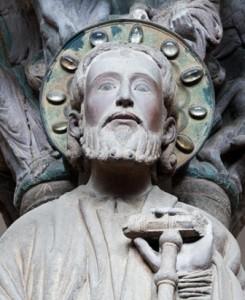 Santiago-portico de la Gloria- Catedral de Santiago de Compostela. A Coruña