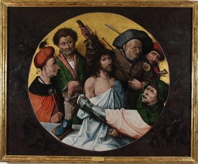 Cristo coronado de espinas, El Bosco
