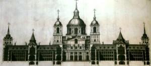 El Escorial, Planos, Patrimonio Nacional, Palacio Real-2