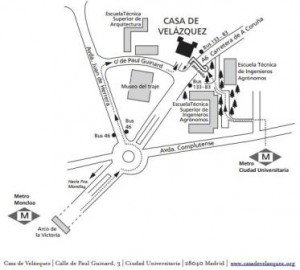 Plano Casa Velázquez