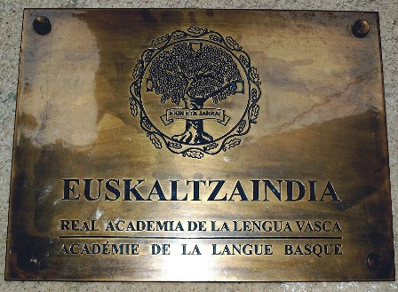 Euskaltzaindia (Zuretzat, Amaiur)