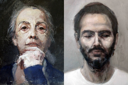 Díptico retratos Desi Civera_vs red