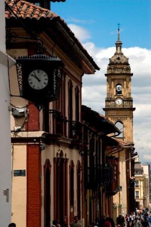 Barrio colonial Bogotá