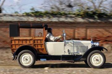 Coche clasico Berlies 1921