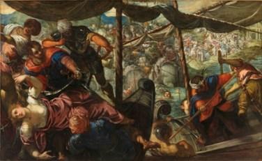 El rapto de Helena, Tintoretto