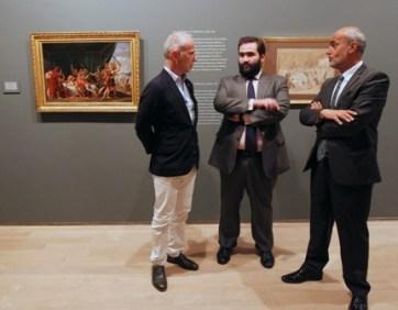 Benj Weil, C Navarro y JL Diez.exp JMadrazo.fot ECobo
