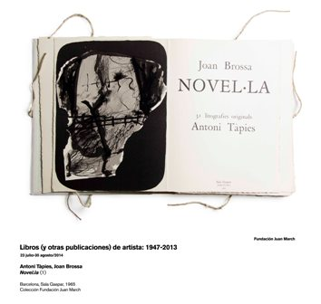 Novel.la (1). Antoni  Tàpies, Joan Brossa