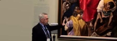 Rafael Alonso, Museo del Prado, El Expolio de Cristo, El Greco