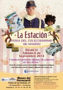 Coleccionismo Feria Museo Ferrocarril Madrid