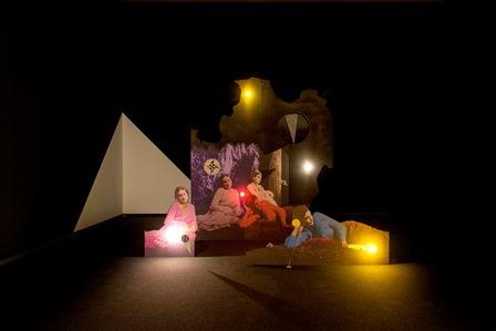Lothar Hempel, Die schwarze Stunde 2004, Colección Goetz. Sala de Arte Santander