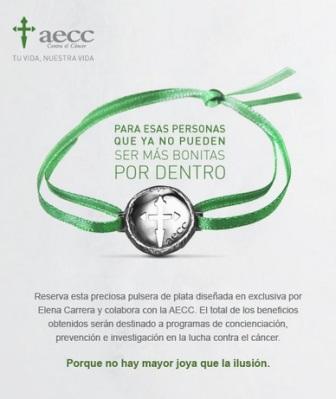 pulsera contra el cancer
