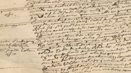 Libro de difuntos BNE Miguel de Cervantes, Lope de Vega,...