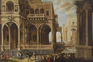 Lote 710:Francisco Gutierrez Cabello (Madrid , 1616- 1670). La Continencia de Escipión. Óleo sobre lienzo, 170 x 260 cm. Precio de salida: 60.000 euros