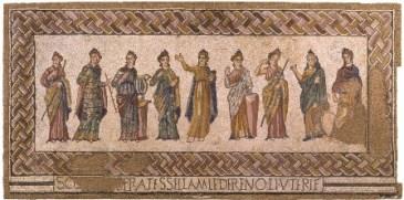 Mosaico de las Musas_Museu Nacional de Arqueologia Lisboa