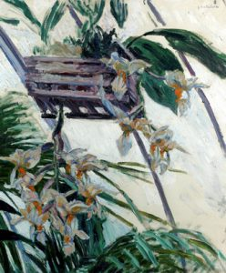 Orquideas Gustave Caillebotte 1