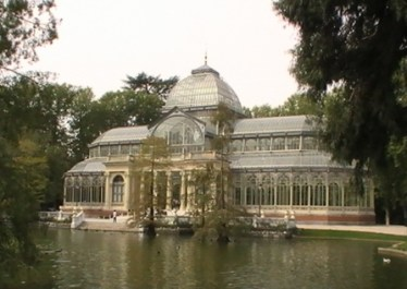 Palacio de Cristal, Parque del Retiro LOGOPRESS